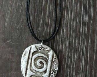 Handmade Spiral of life - pendant