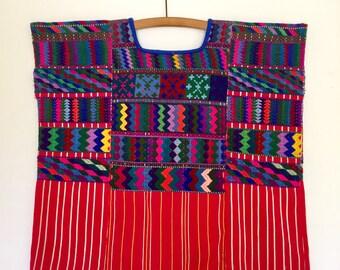 Embroidered Guatemalan Huipil
