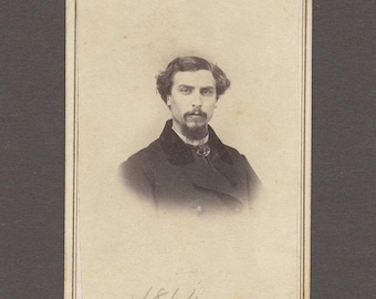 Early CDV of an Ohio Doctor ~ Tax Stamp