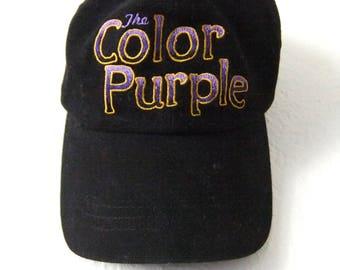 The Color Purple Movie Strapback Dad Hat - 80s Whoopi Goldberg Vintage Movie Cap