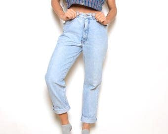 Vintage 80's GUESS High Waisted Jeans Sz 32