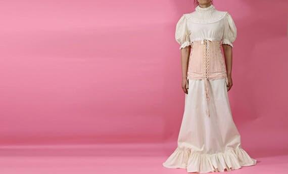 Bonito Algodón Vestido De Novia Ideas Ornamento Elaboración ...
