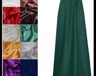 High Quality Unisex Dark Green Poly Cotton Cloak lined with Shimmer Satin. Ideal for LARP LRP Medieval Costume. Made especially for you.