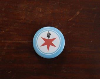 Hamilton Chicago - Pinback Button or Magnet