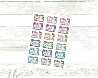 Planner Multicolor Functional Planner Stickers