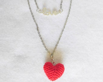 OOak One Love Crochet Necklace