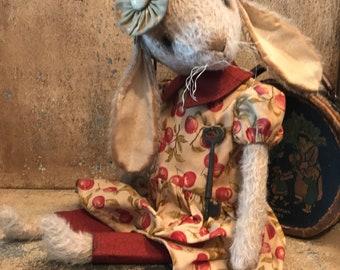 Lottie, Mohair Bunny