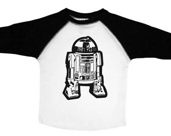 R2D2 Tee, Star Wars Shirt, R2D2 Tshirt, Star Wars Kids Tee, R2D2 Shirt, Star Wars Baby, R2D2 Baby, Star Wars Tee, R2D2 Kids Shirt, R2D2 Tee