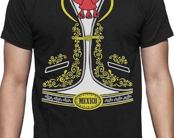 Mexican Mariachi Charro Halloween Costume T-Shirt