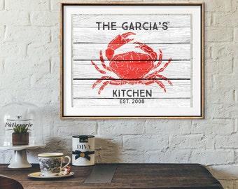 nautical kitchen   etsy