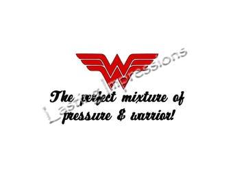 Wonder Woman Instant Pot or Crock Pot Vinyl