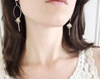 Shady Grove Hoop Earrings