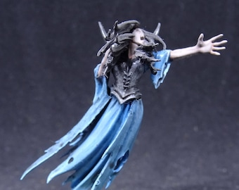 Banshee. Vampire Counts, Undead Vengeful Spirit from Warhammer Age of Sigmar. Hand Painted Miniature from Games Workshop