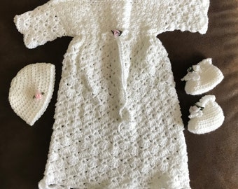 Handmade Christening Outfit