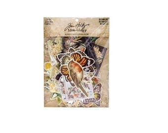 Tim Holtz Idea-ology Layers-  Botanical