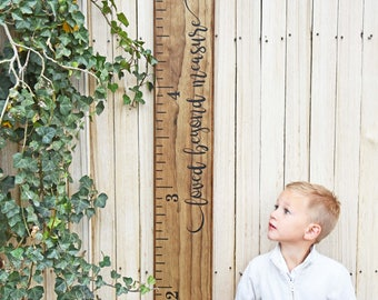"""Sale! 30% off - Growth Chart Ruler Add-On -- For the Side -- """"Loved Beyond Measure"""""""