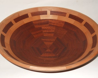 Sapele and Alder Salad Bowl
