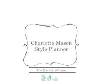 Charlotte Mason Style Planner