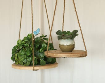 Plant stand table made from reclaimed wood - Indoor/Outdoor - Bedside Table, Accent Table, Side Table, Plant Stand