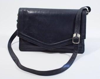 Vintage Marine Leather Shoulderbag