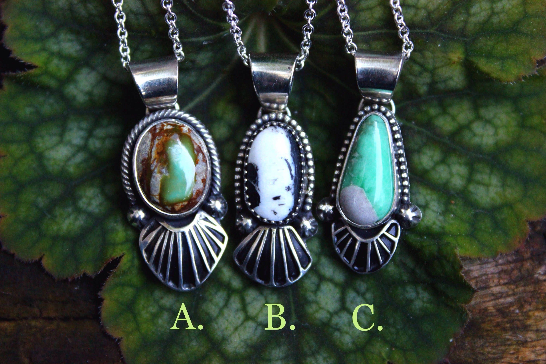 Layering necklace white buffalo turquoise royston ribbon for Royston ribbon turquoise jewelry