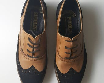 womens oxford shoes made in Portugal