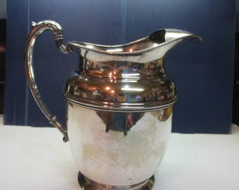 Silverplate Friedman Silver Co. Water Pitcher 5 Qt. E.P.N.S #1154