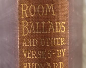Barrack Room Ballads and Other Verses by Rudyard Kipling 1897