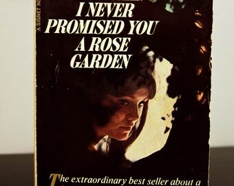 "Vintage 1960s Paperback - ""I Never Promised You A Rose Garden"" by Hannah Green"