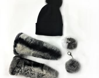 Real Fur Canadian |Canadian fur winter accessories