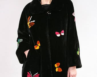 Real Fur Canadian |Butterfly Coat