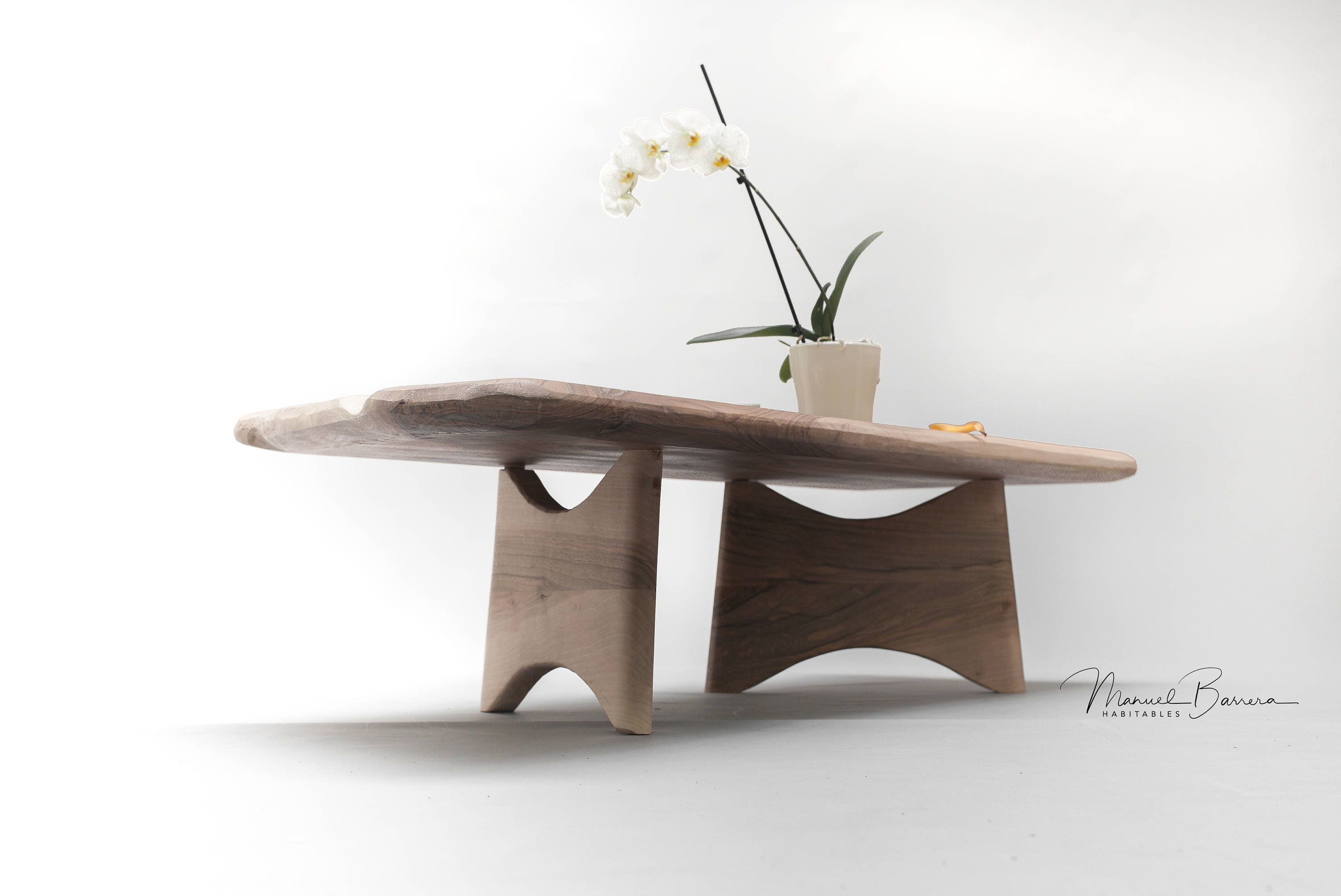 Coffee table center table living room table made of solid