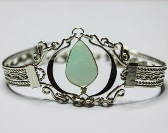 Braided Bracelet Peruvian Opal