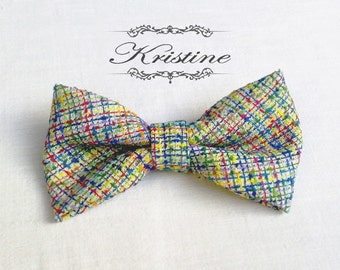 Womens colorful bow tie