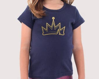Evie Genie Chic / Crown T-shirt (kids and adult sizes)