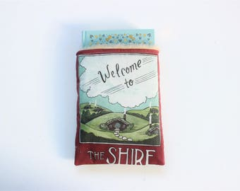 The Shire Book Sleeve // Hardcover Size // Literary Gift // Protect Your Books