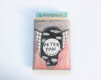 Peter Pan Book Sleeve // Hardcover Size // Literary Gift // Protect Your Books