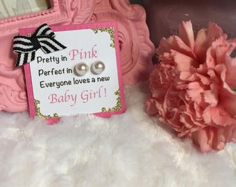Awesome Kate Spade Inspired Baby Shower Favors / Pink And Gold / Pretty In Pink