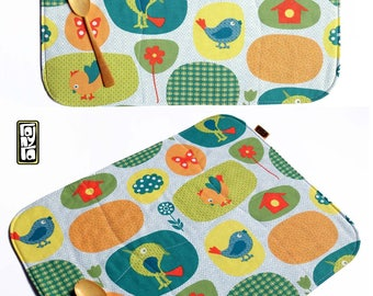 Placemats for breakfast - snack
