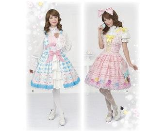 8444, Simplicity,  Lolita, Llittle Bo Peep, Cosplay, Dress Up, Halloween, Roleplay Sailor Moon, Anime