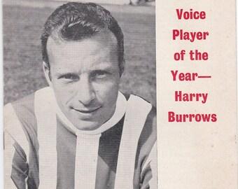 Vintage Football (soccer) Programme - Stoke City v West Bromwich Albion, 1969/70 season
