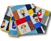 Doctor Who Baby * Personalized Baby Blanket * Doctor Who Baby Quilt * Dr Who Quilt * Doctor Who Gift * Doctor Who Baby Gift