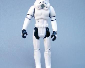 Vintage Star Wars Rare KO Stormtrooper Figure - 1990 LFL Made in China