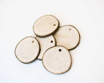 Wooden slices q.ty 10 1.75