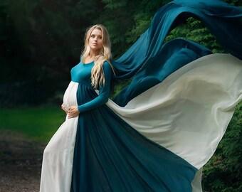 Carnation Dress l Maternity Gown l Maternity Dress l Maternity Photoshoot