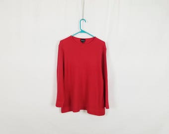 The Baggy Red Thermal Shirt