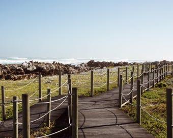 South Africa Photography Print, Photograph, Art, Wall Art, Fine Art, Home Decor, Ocean, Water, Beach, Color, Blue, Coast, Coastal, Travel