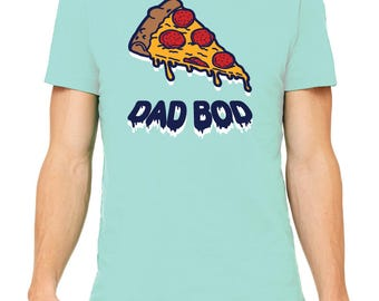 Dad Bod Tee, t-shirt, dad shirt, t shirt, gift for dad, dad stuff, parenting, food, pizza