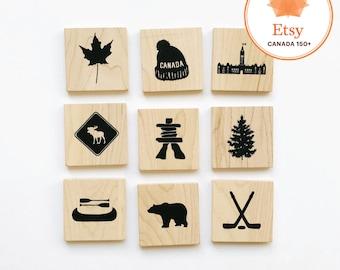 Jeu de mémoire 〰 CANADA 〰 Memory Game