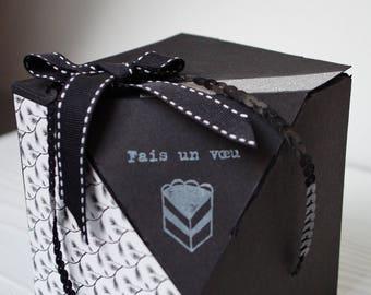 "Gift box ""Make a wish"""